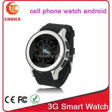 Shenzhen manufacturer supply cheap 3g hand phone watch waterproof