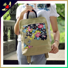 unique printing wholesale canvas bag,cotton canvas tote bag,backpack shoulder bag canvas bag