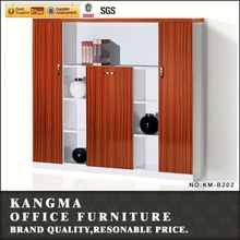 customized available new trend design office wood bookcase