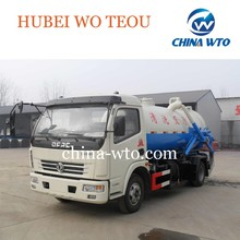 DFAC 4*2 light truck cleaning sewage suction truck,vacuum sewage suction truck,cleaning sewage suction truck