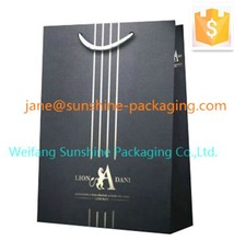 luxury shopping paper bag