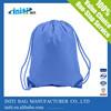 2015 custom design 210D polyester drawstring bag for running