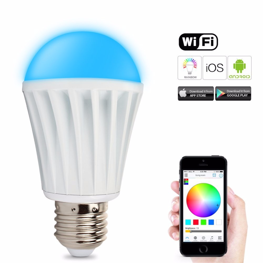 Wifi Led Smart Lighting Wifi Control Dimmable Color Changing Smart Led Light Buy Smart