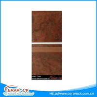 China best price 300 x 300mm tile interior stairs