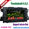 Hot selling Touch screen android 4.4.2 car dvd player for Mazda CX-5 2012 with GPS wifi 3g Bluetooth TV USB SD Radio mirror link