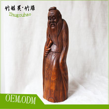 For gift wedding decoration folk art bamboo root carving