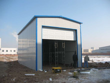 Color steel plate mobile prefabricated warehouse