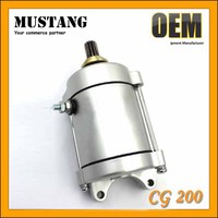 Electric start Motorcycle / Scooter Parts CG200 Motorcycle/ Scooter Electric Starter Motor