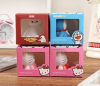 Cartoon characters KT design funny cell phone holder for desk