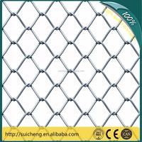 guangzhou factory chain link mesh/diamond mesh/ woven wire mesh