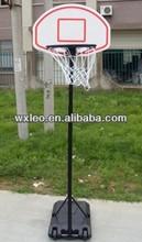 Portable adjustable basketball stand