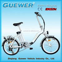 CE and EN15194 certificate aluminum alloy frame lithium battery electric powered foldable electric bicycle ZW-TDN-203Z