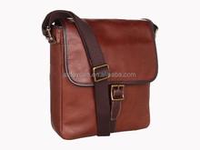 latest design leather Shoulder messenger Bag for men