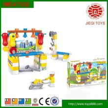 2015 new product 53PCS intelligence engineering building blocks toys for child