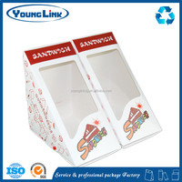 High quality Sandwich packaging, bread packaging box, food packaging box for hotel