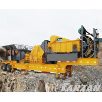 China good quality supplier mini mobile rock crusher machinery for complete gravel production line