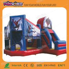 Hot sale cheap spiderman inflatable bouncy castles prices