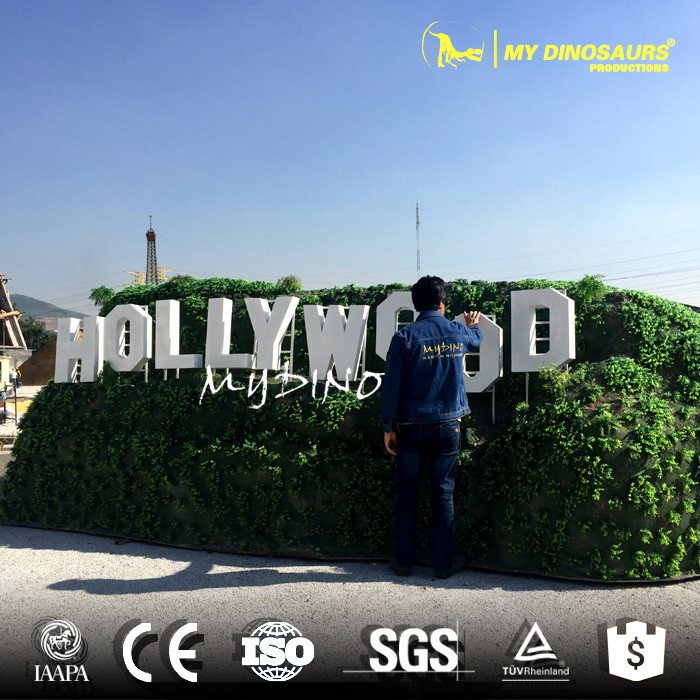 My Dinod4040 Miniature Park Sculpture Decoration Hollywood Sign Delectable Hollywood Sign Decoration
