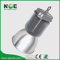 CE TUV UL driver PF>0.95 copper pillar radiator COB led high bay 200w