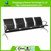 BT-ZC004D Waiting area used hospital chairs stainless steel medical chair