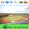 2015 New Popular useful prefabricated rubber running track