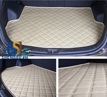 3D waterproof car trunk mat