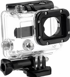 2015 Skeleton Protective Waterproof Housing Case with Lens for Gopro hero 3, Open Side for FPV, without cable