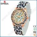 ds0190 nuevo estilo de reloj de leopardo