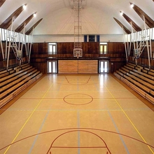 Basketball/badminton PVC sport flooring with china factory cheapest price