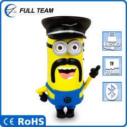 2015 Hot sell minion sleeping cooler bag with bottle holder