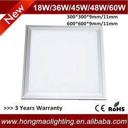 LED panel light 24w 36w 48w 52w 60W,600x600MM LED panel ,2x2 ft flat panel led Meanwell Driver