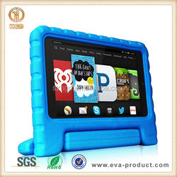 Newest fashion shockproof 6 inch rubber tablet case for kindle fire with handle grip