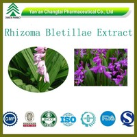 GMP ISO certificated factory supply Hot sale top quality Rhizoma Bletillae P.E For Stopping bleeding