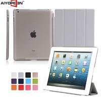 hot selling Good qulity ultra thin magnetic 4 folder smart case for ipad2 34