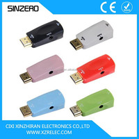 Plastic vga to hdmi adapter/coaxial cable to hdmi adapter/hdmi adapter to scart