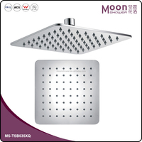 Bathroom Ceiling SS304 top shower SS304 200*200*4mm