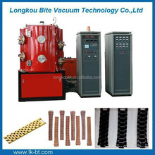 PVD vacuum ion coating machine for stainless steel jewelry plating gold, brown, tan, gray, black, blue, rose and seven color etc