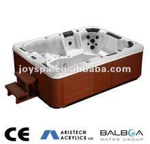 2015 new price outdoor freestanding hydro jet bath JY8002