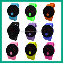 2015 New Products Candy Color Digital LED Watch design your own wristbands band fitness wearable wristband