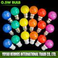 Venta al por mayor muchos moda lindo 0.5 W led que cambia de color de la lámpara