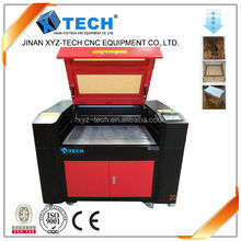 2015 agent price!!!600*900mm wood acrylic laser engraving machine 6090