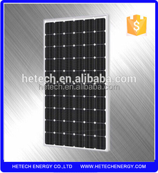 low price solar panels 260 watt mono silicon manufacturers in china