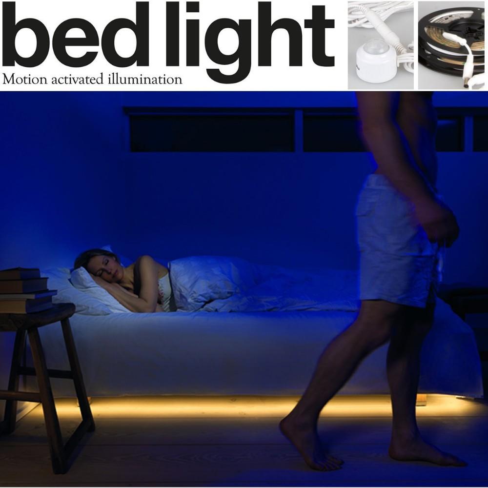 Motion Sensor Led Bed Light Jpg