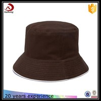 hot selling funny picture cotton print polo bucket hat