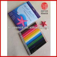 "7"" 24 pcs water color pencils set"