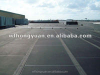 rubber EPDM roofing felt/ EPDM waterproof materials / black EPDM roofing materials