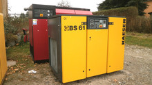 German KAESER Screw Air Compressor 10bar Second Hand