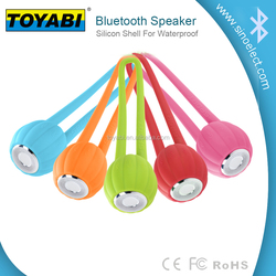 Portable Mini Wireless Bluetooth Pumpkin Speaker Waterproof Silicon