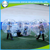 2015 New top sale high quality PVC bubble ball soccer