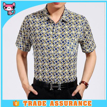 100% Cotton Dress Shirts For Men With Floral